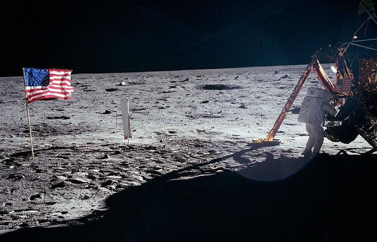Высадка американцев на Луну в 1969 году