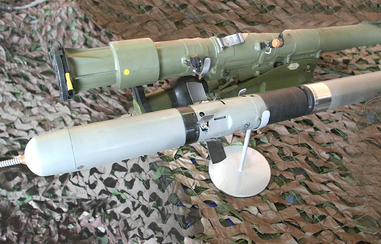 """Переносной зенитный ракетный комплекс """"Игла-С"""""""