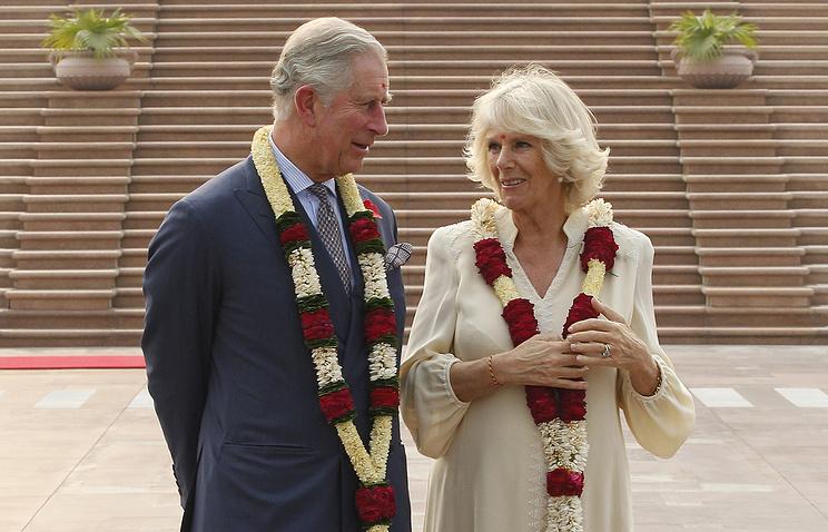Принц Уэльский Чарльз и герцогиня Корнуольская Камилла