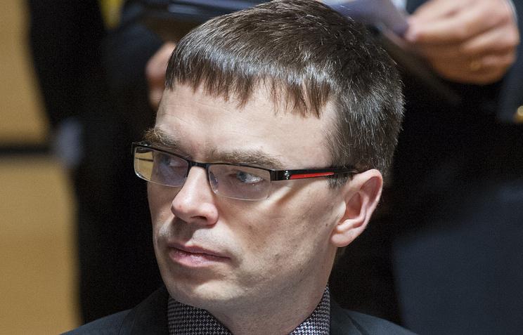 министр обороны Эстонии Свен Миксер