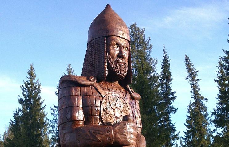 Скульптура Александра Невского