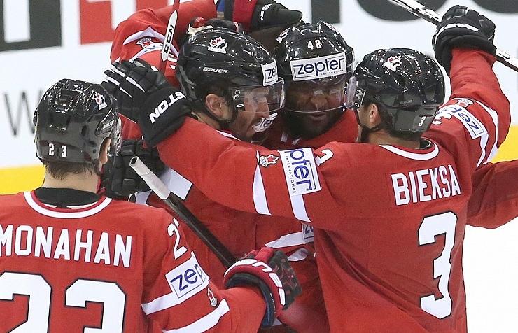 Сборная Канады встретится с командой Дании