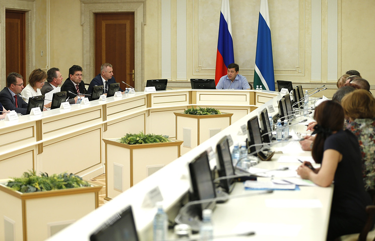 Заседание совета по делам инвалидов при губернаторе Свердловской области