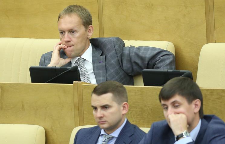 Андрей Луговой на заседании Государственной Думы РФ, 20 мая 2014.