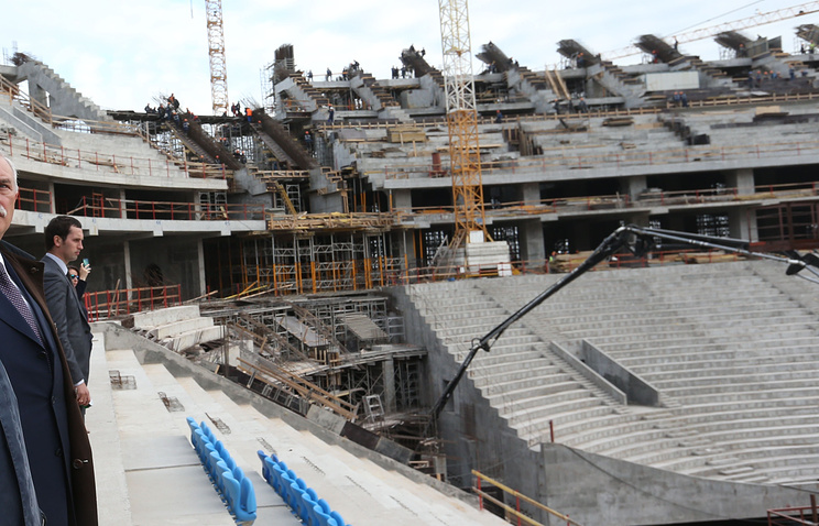 Стадион на Крестовском острове