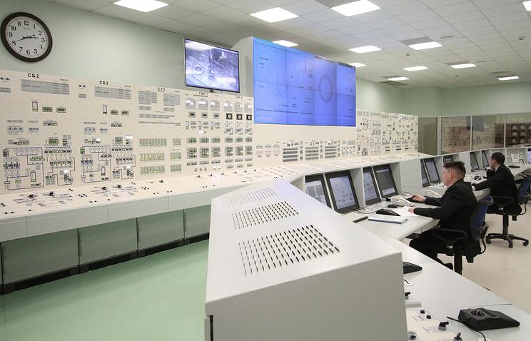 Блочный пункт управления 4 энергоблоком Белоярской АЭС (Бн-800)