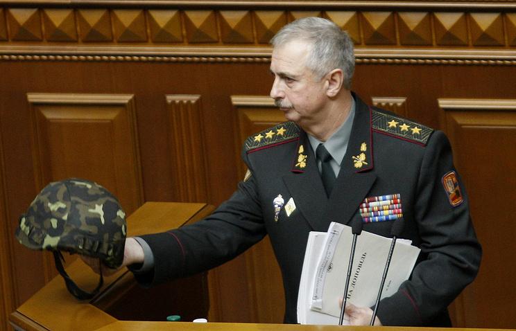 Исполняющий обязанности министра обороны Украины Михаил Коваль
