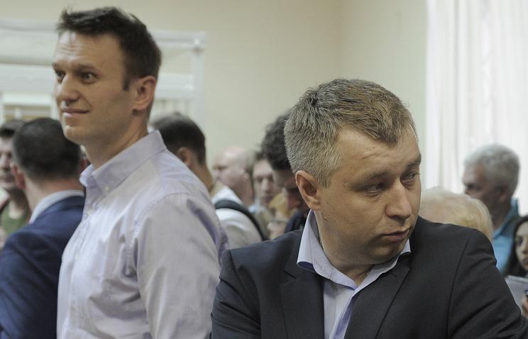 Алексей Навальный и Андрей Лисовенко