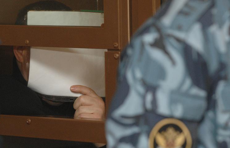 Барсуков в Мосгорсуде, апрель 2009 года