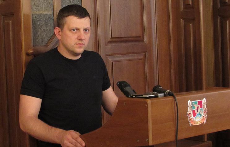 Председатель Верховного совета провозглашенной Луганской народной республики (ЛНР) Алексей Карякин