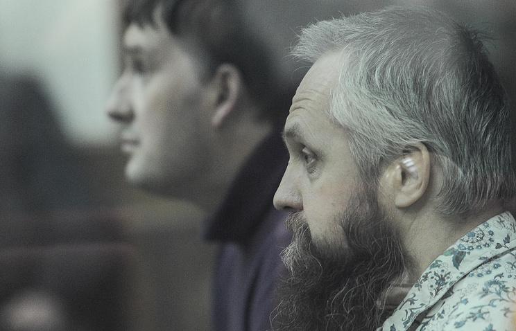 Алексей Савосин и Алексей Карпов (справа налево) в зале Свердловского областного суда