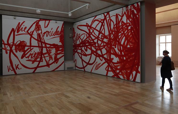 Работа австрийского художника Отто Зитко