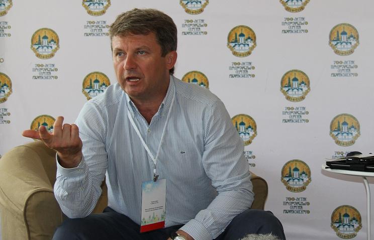 Министр культуры Московской области Олег Рожнов