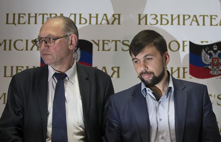 Борис Литвинов и Денис Пушилин