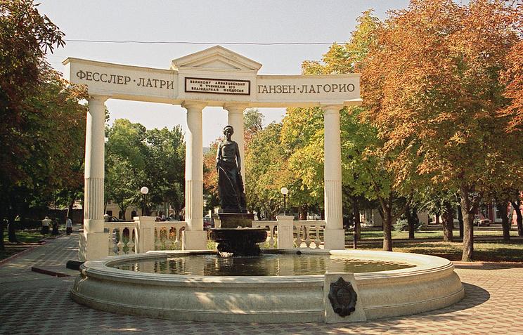 Виды города Феодосии