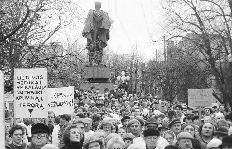 Вильнюс, 1991 год