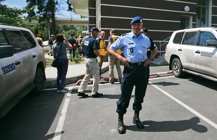Экспертоы из ОБСЕ, Австралии и Нидерландов в Донецке