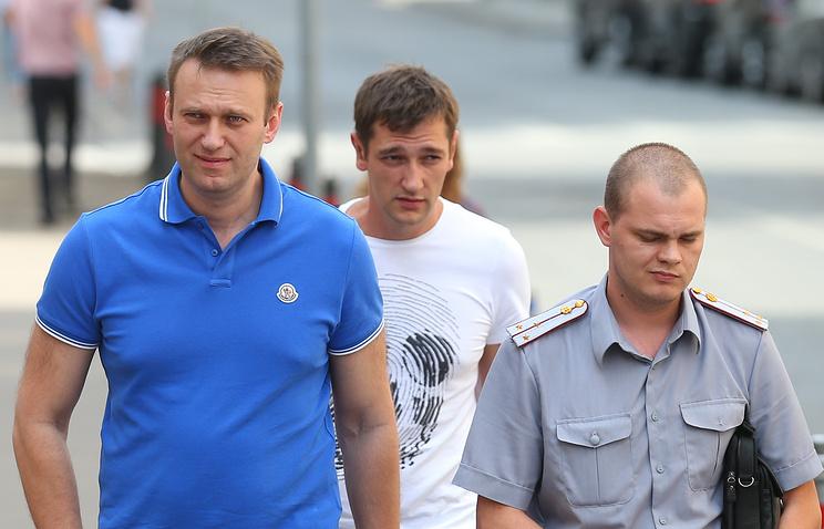 Алексей Навальный и Олег Навальный