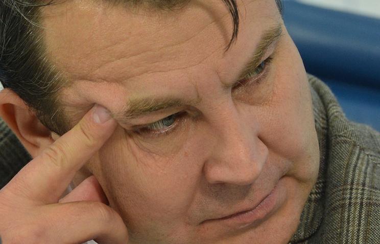 Глава Федерации тяжелой атлетики России Сергей Сырцов
