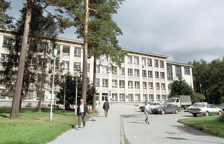 Учебный корпус Новосибирского государственного университета
