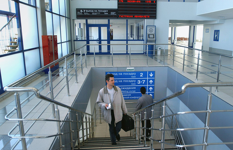 "Аэропорт ""Толмачево"". Архив"