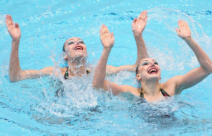 Дарья Коробова (слева) и Светлана Колесниченко (справа)