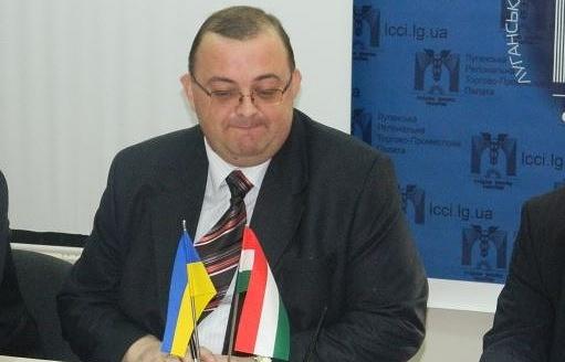 Президент Луганской региональной торгово-промышленной палаты, Почетный консул Венгрии в Луганской и Донецкой областях Сергей Кириченко