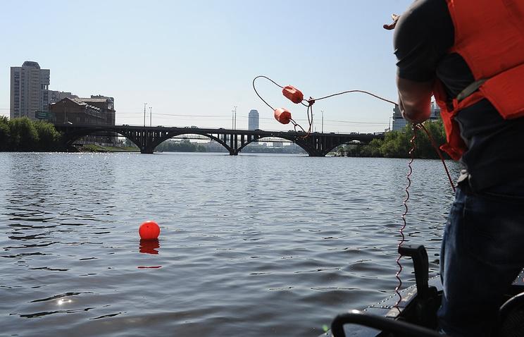 Учения МЧС по спасению на воде