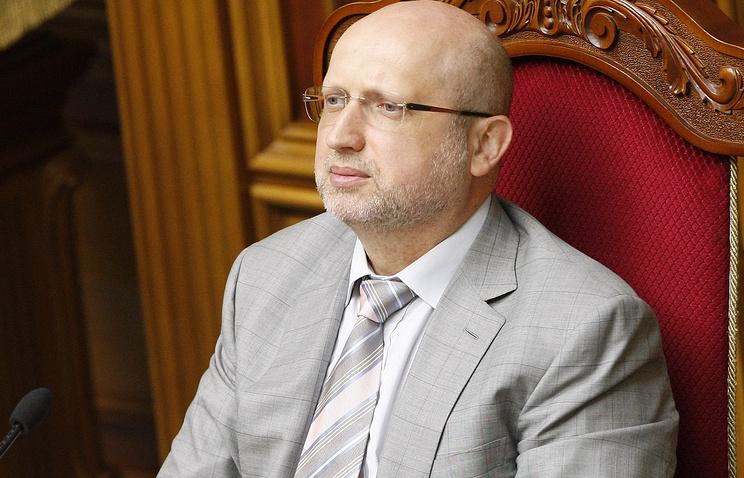 Председатель Верховной рады Александр Турчинов