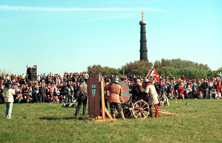 Историческая реконструкция на Куликовом поле, 1998 год