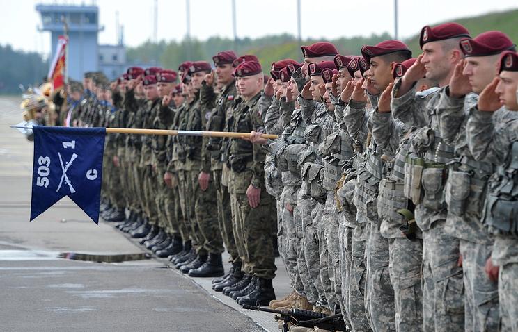 Солдаты ВДВ США
