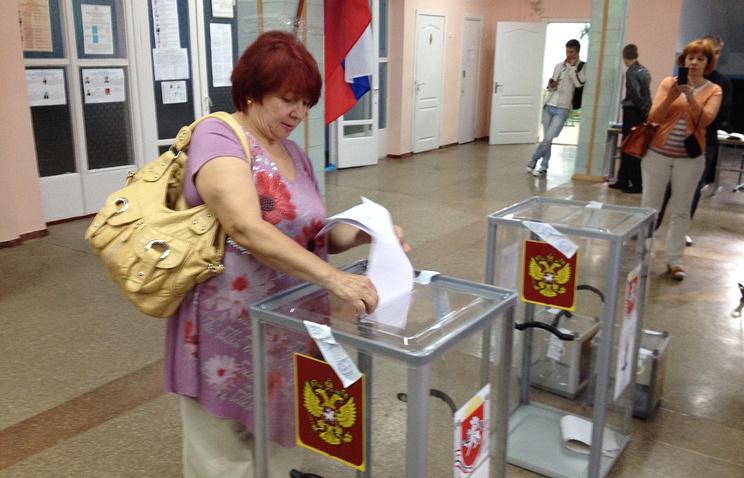 Голосование в Симферополе