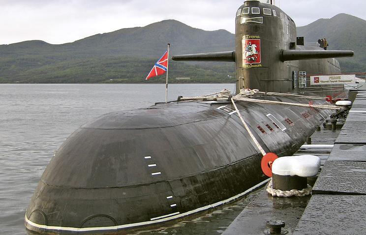 """Атомный подводный крейсер стратегического назначения """"Святой Георгий Победоносец"""""""