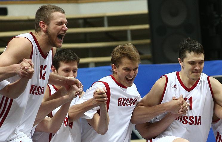 Российские баскетболисты