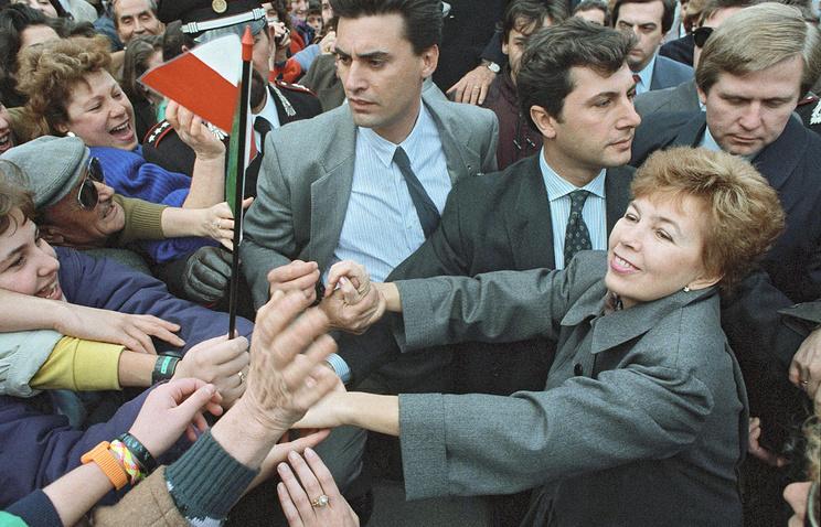 Раиса Горбачева. 1989 год