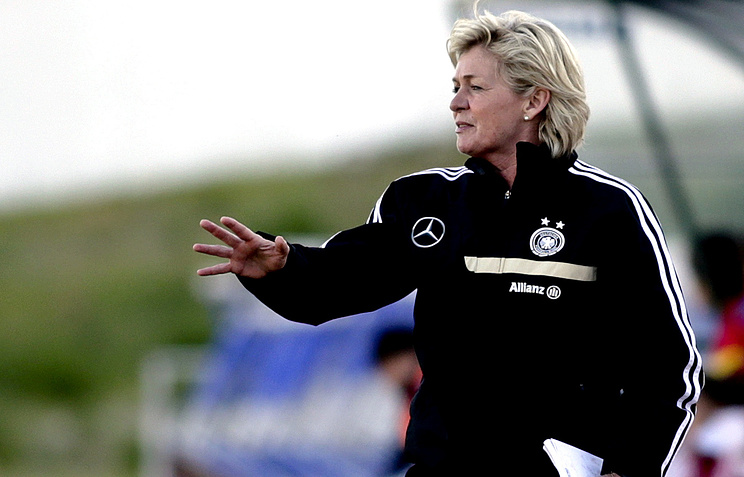Главный тренер женской сборной Германии Сильвия Нейд