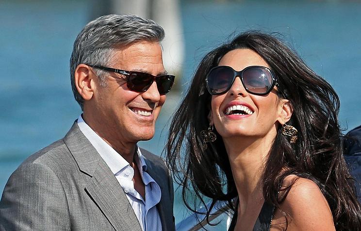 Джордж Клуни и Амали Аламуддин