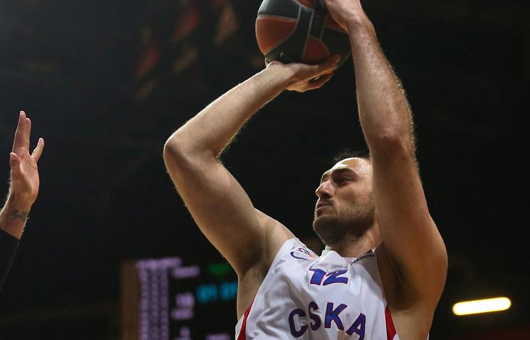Баскетболист ЦСКА Ненад Крстич