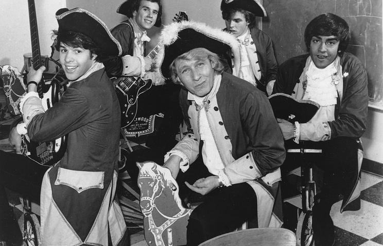 Группа Raiders, 1967 год. Пол Ревир - на первом плане справа