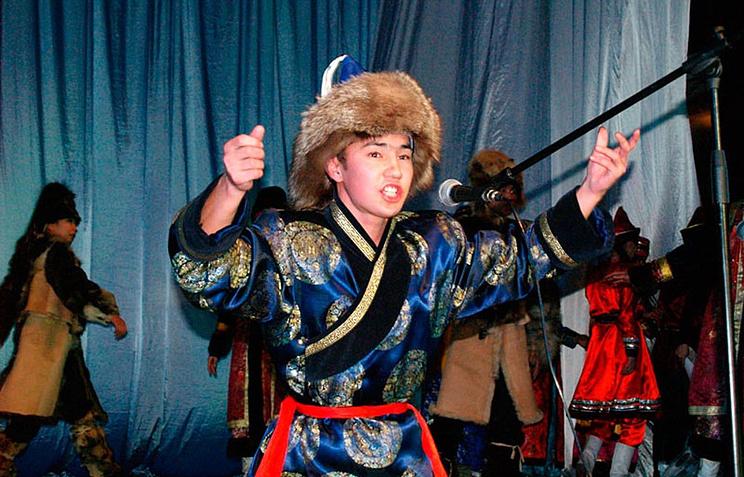 Улигершин Константин Хангуев из Эхирит-Булагатского района Бурятии. Архив