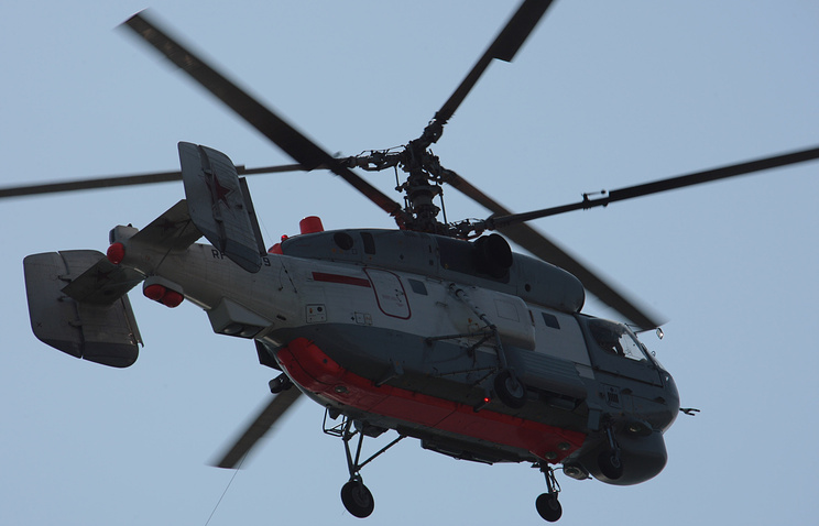 Корабельный поисково-спасательный вертолет Ка-27ПС