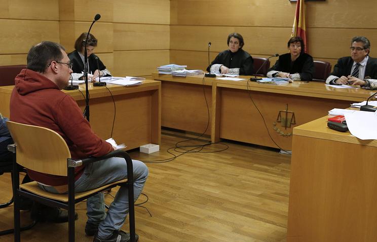 Артур Будовский в Мадридском суде