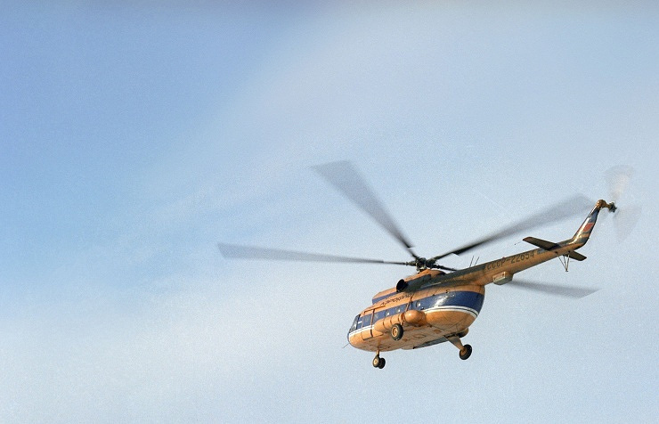 Вертолёт Ми-8. Архив