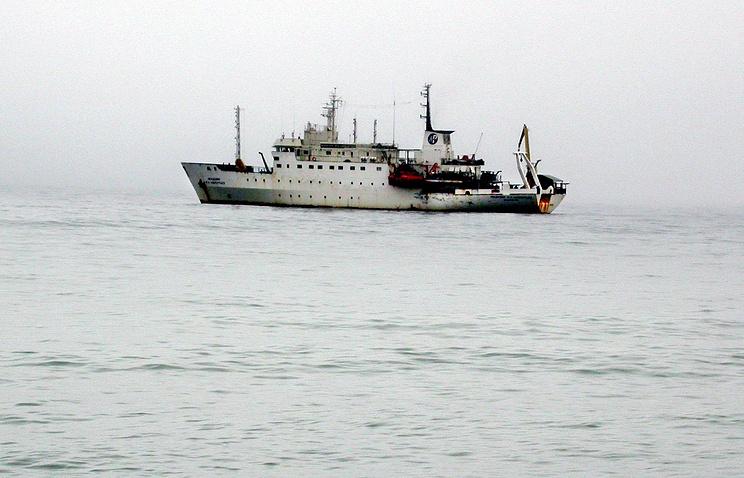 Научно- исследовательское судно «Академик М.А. Лаврентьев»