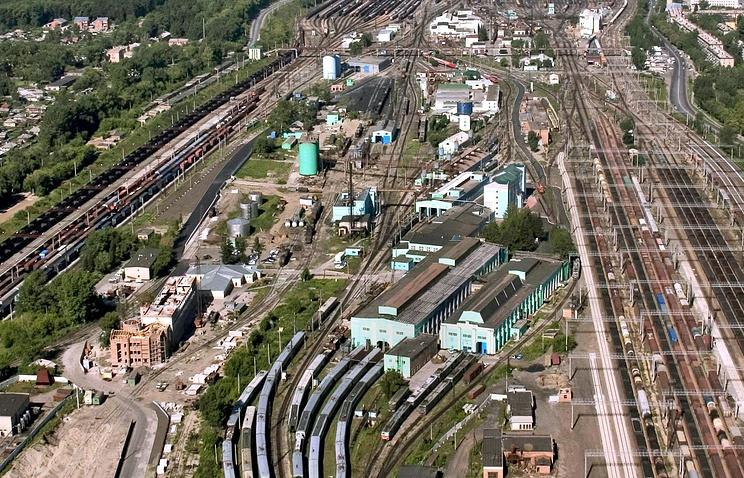 Станция Инская в Новосибирской области