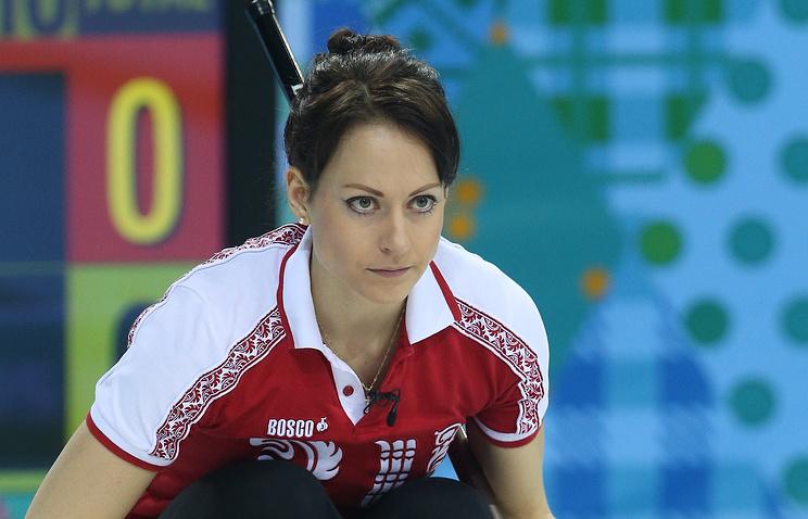 Екатерина Галкина на Олимпийских играх в Сочи