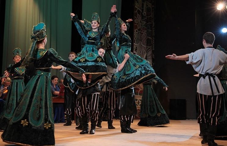 """Во время открытия концертного зала """"Сибирь"""" в Барнауле"""