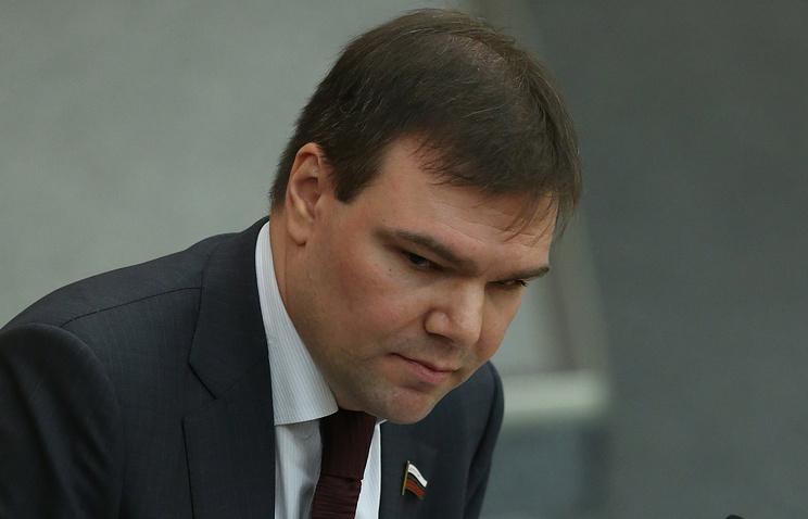 Депутат Государственной Думы Леонид Левин