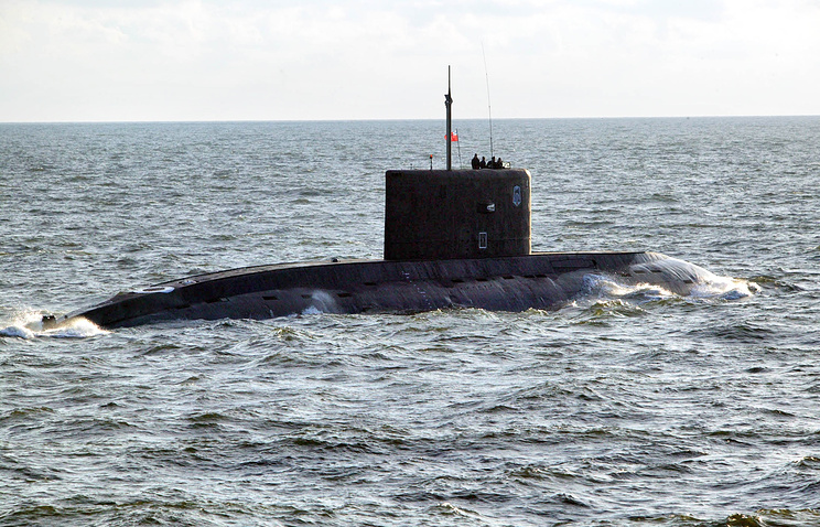 "Подводная лодка проекта ""Варшавянка""."