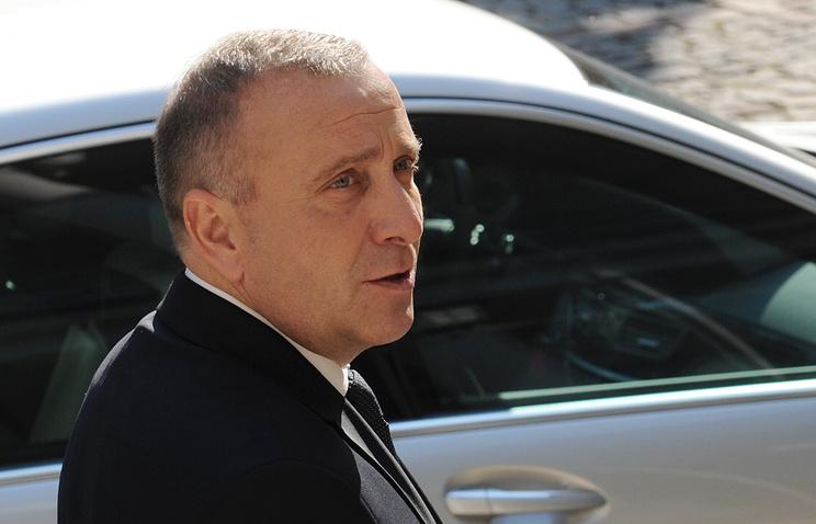 Министр иностранных дел Польши Гжегож Схетина